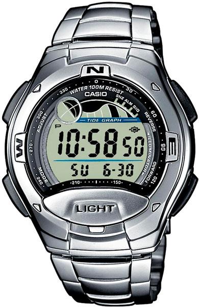 Мужские часы Casio W-753D-1A-ucenka стоимость