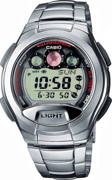 Мужские часы Casio W-755D-1A casio w 755d 1a