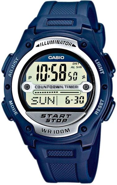 Мужские часы Casio W-756-2A все цены