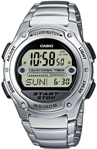 Мужские часы Casio W-756D-7A