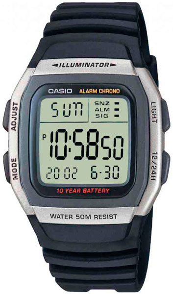 купить Мужские часы Casio W-96H-1A онлайн