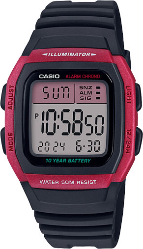 Мужские часы Casio W-96H-4AVEF