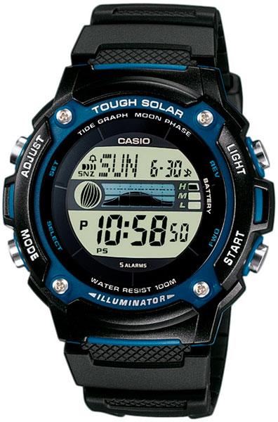 Мужские часы Casio W-S210H-1A все цены