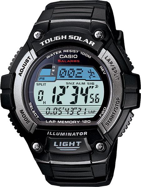 Мужские часы Casio W-S220-1A все цены