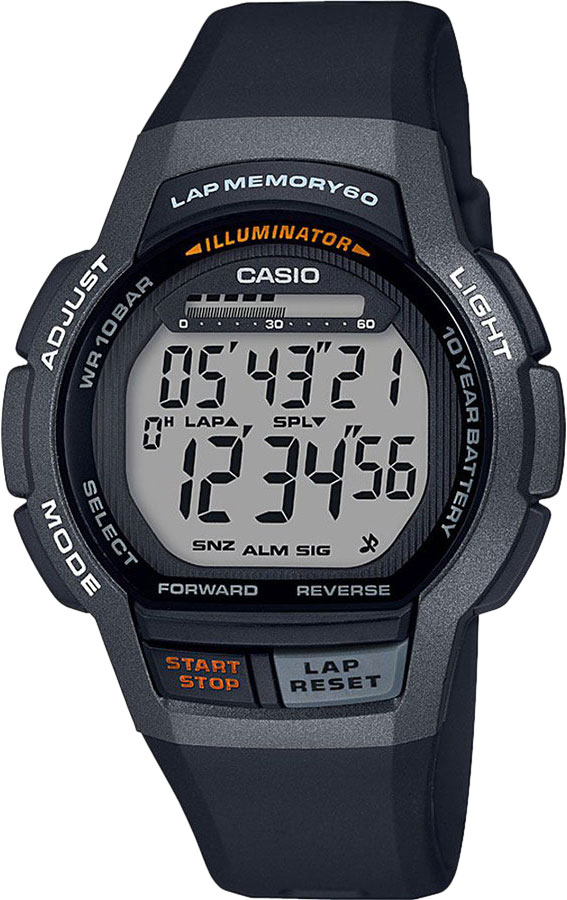 Мужские часы Casio WS-1000H-1AVEF casio casio gwn 1000h 2a