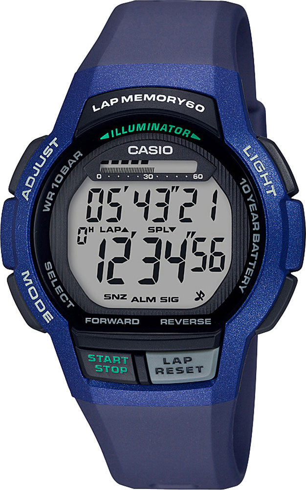 Мужские часы Casio WS-1000H-2AVEF casio casio gwn 1000h 2a
