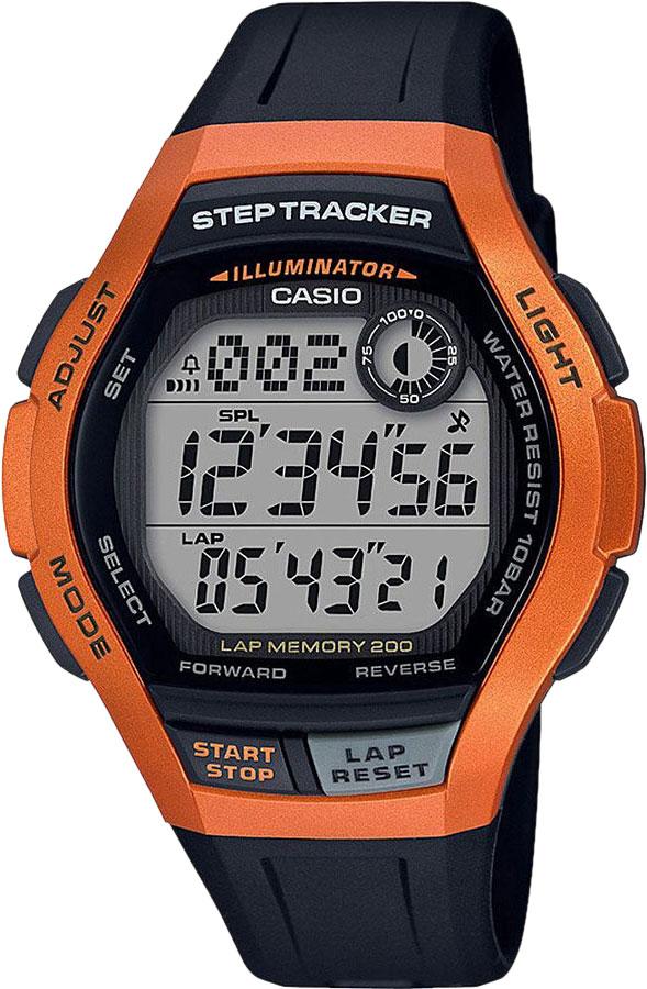 Мужские часы Casio WS-2000H-4AVEF наручные часы casio ws 2000h 4a
