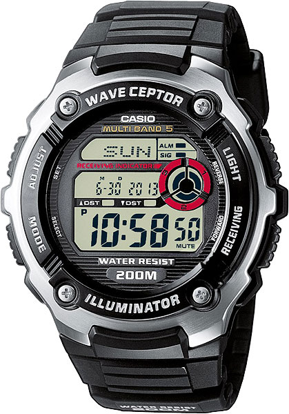 Мужские часы Casio WV-200E-1A casio casio wv 200e 2a