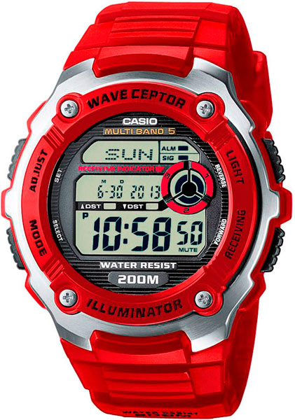 Мужские часы Casio WV-200E-4A casio casio wv 200e 2a