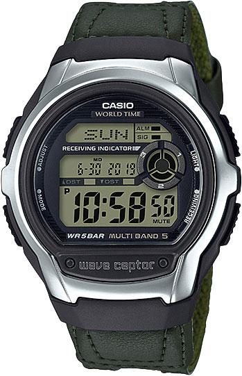 лучшая цена Мужские часы Casio WV-M60B-3A-ucenka
