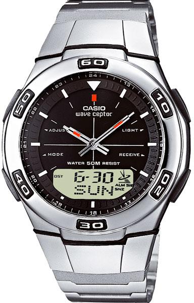 все цены на Мужские часы Casio WVA-105HDE-1A онлайн