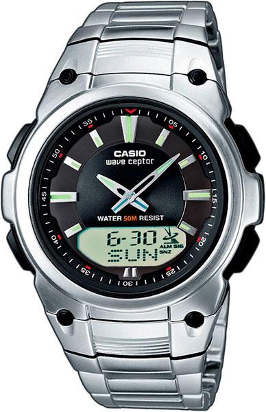 Мужские часы Casio WVA-109HDE-1A casio wave ceptor wv 200e 2a