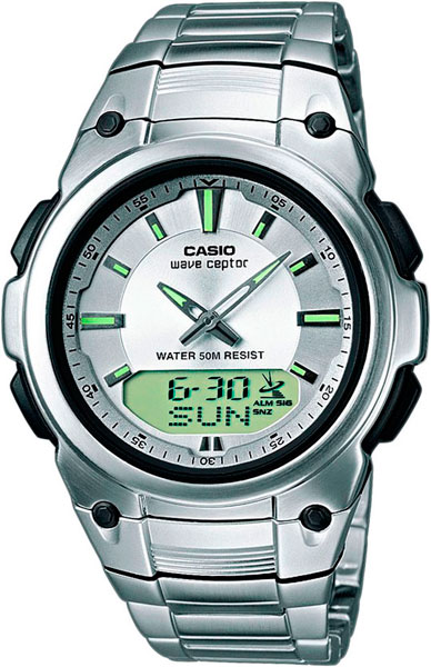 Мужские часы Casio WVA-109HDE-7A casio wave ceptor wva 109hde 7a