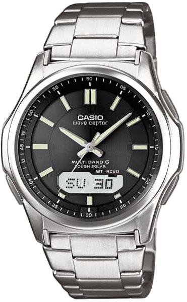 Мужские часы Casio WVA-M630TD-1A casio wave ceptor wva m650d 2a