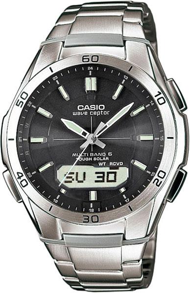Мужские часы Casio WVA-M640D-1A casio wave ceptor wva 105hde 1a