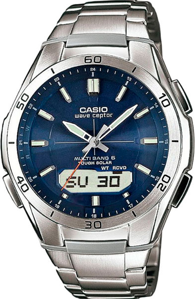 Мужские часы Casio WVA-M640D-2A все цены