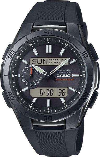 Мужские часы Casio WVA-M650B-1A casio wave ceptor wv 200de 1a