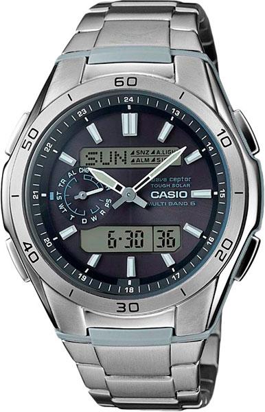 цена Мужские часы Casio WVA-M650TD-1A онлайн в 2017 году