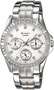 49450faf950a1 Женские наручные часы Casio Sheen — купить на официальном сайте ...