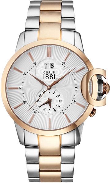 Мужские часы Cerruti 1881 CRA075C211B сумка cerruti 1881 cerruti 1881 ce899bmoea32
