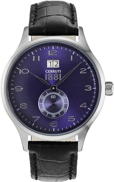 Мужские часы Cerruti 1881 CRA102SU03BK мужские часы cerruti 1881 cra127stbl61gy