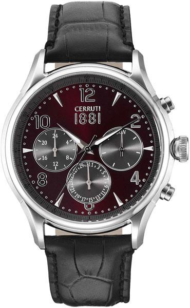 Мужские часы Cerruti 1881 CRA107SN10BK мужские часы cerruti 1881 cra076bb02