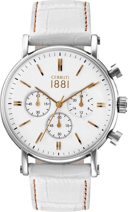 Мужские часы Cerruti 1881 CRA110SG01WH мужские часы cerruti 1881 crb040c213c