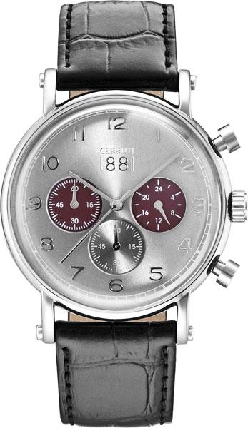 Мужские часы Cerruti 1881 CRA110SN61BK мужские часы cerruti 1881 cra118sn02bk