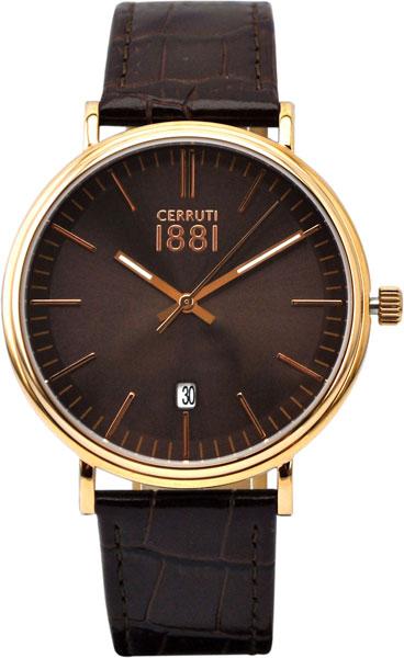 Мужские часы Cerruti 1881 CRA111SR12BR мужские часы cerruti 1881 crc015a212c