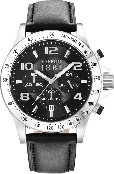 цена Мужские часы Cerruti 1881 CRA118SN02BK онлайн в 2017 году