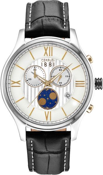 Мужские часы Cerruti 1881 CRA119STU07BK мужские часы cerruti 1881 cra076bb02