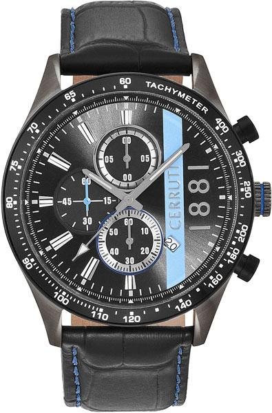 Мужские часы Cerruti 1881 CRA121SUB02BK мужские часы cerruti 1881 cra127stbl61gy
