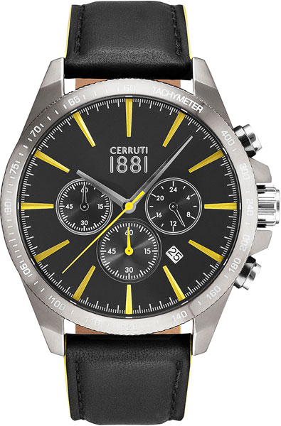 Мужские часы Cerruti 1881 CRA126SU02BK мужские часы cerruti 1881 cra121sub02bk