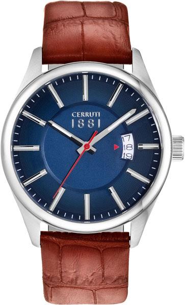 Мужские часы Cerruti 1881 CRA127SN03BR мужские часы cerruti 1881 cra011f224c