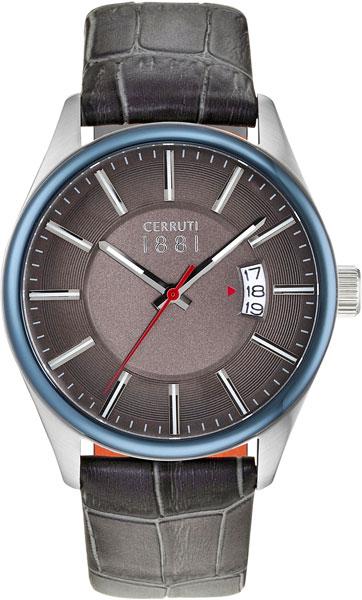 цена Мужские часы Cerruti 1881 CRA127STBL61GY онлайн в 2017 году