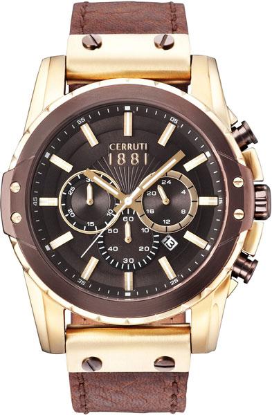 Мужские часы Cerruti 1881 CRA130SGBZ12BR мужские часы cerruti 1881 cra076bb02