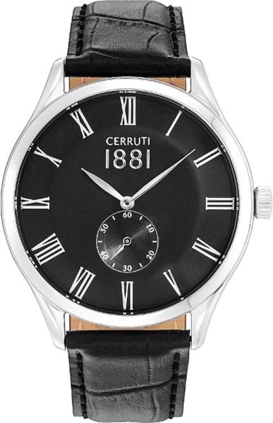 Мужские часы Cerruti 1881 CRA141SN02BK мужские часы cerruti 1881 cra127stbl61gy