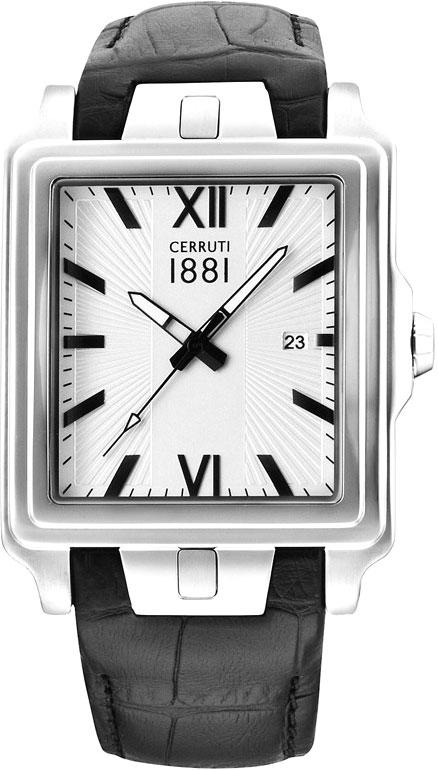 цена Мужские часы Cerruti 1881 CRC015A212C онлайн в 2017 году