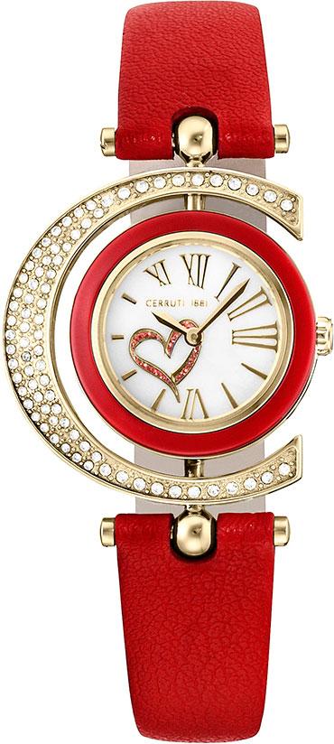 Женские часы Cerruti 1881 CRP004SG28RD мужские часы cerruti 1881 crc015a212c