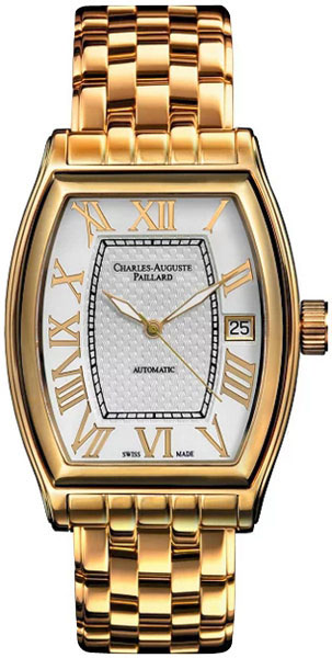 Мужские часы Charles-Auguste Paillard 101.101.12.16B charles auguste paillard часы charles auguste paillard 102 200 11 36s коллекция rectangular quartz