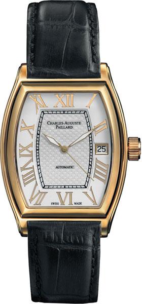 Мужские часы Charles-Auguste Paillard 101.101.12.16S charles auguste paillard часы charles auguste paillard 102 200 11 36s коллекция rectangular quartz