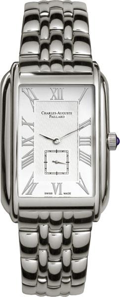 Мужские часы Charles-Auguste Paillard 102.200.11.16B charles auguste paillard часы charles auguste paillard 102 200 11 36s коллекция rectangular quartz