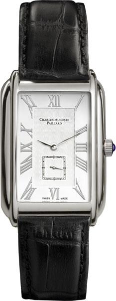 Мужские часы Charles-Auguste Paillard 102.200.11.16S charles auguste paillard часы charles auguste paillard 102 200 11 36s коллекция rectangular quartz