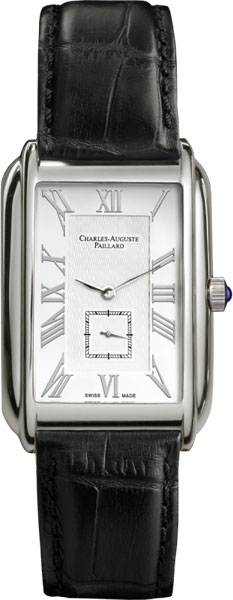 Мужские часы Charles-Auguste Paillard 102.200.11.16S charles auguste paillard часы charles auguste paillard 400 101 15 13s коллекция watch art iii