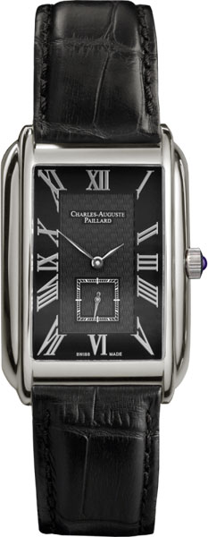 Мужские часы Charles-Auguste Paillard 102.200.11.36S charles auguste paillard часы charles auguste paillard 102 200 11 36s коллекция rectangular quartz