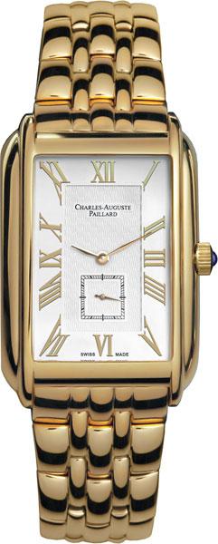 Мужские часы Charles-Auguste Paillard 102.200.12.16B charles auguste paillard часы charles auguste paillard 102 200 11 36s коллекция rectangular quartz