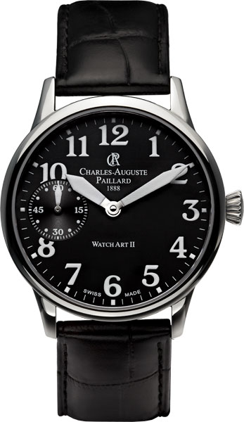 Мужские часы Charles-Auguste Paillard 103.300.11.30S charles auguste paillard часы charles auguste paillard 102 200 11 36s коллекция rectangular quartz