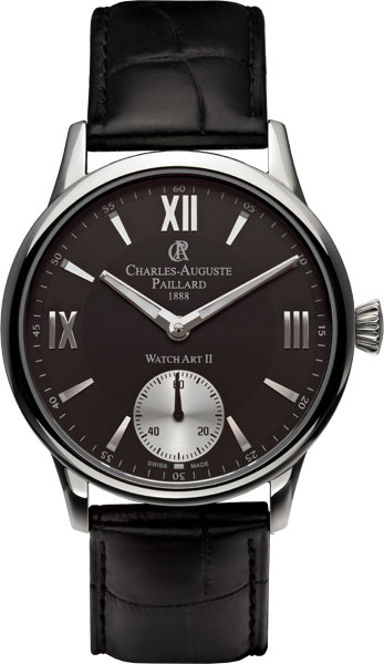 Мужские часы Charles-Auguste Paillard 103.301.11.35S charles auguste paillard часы charles auguste paillard 102 200 11 36s коллекция rectangular quartz