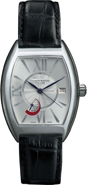 Мужские часы Charles-Auguste Paillard 200.104.11.15S charles auguste paillard часы charles auguste paillard 102 200 11 36s коллекция rectangular quartz