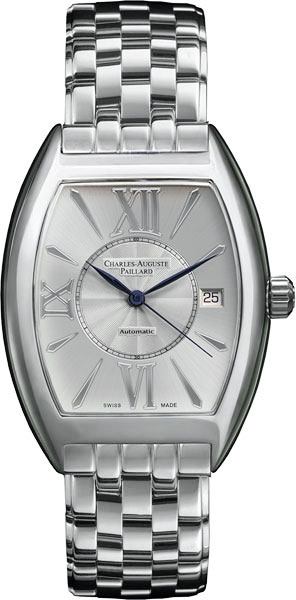 Мужские часы Charles-Auguste Paillard 200.101.11.15B charles auguste paillard часы charles auguste paillard 102 200 11 36s коллекция rectangular quartz